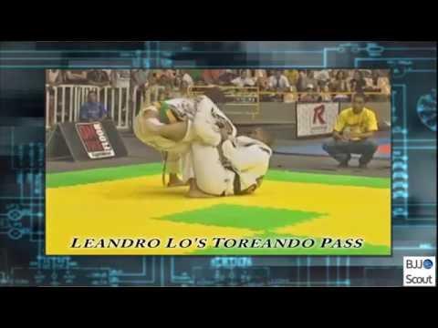 BJJ Scout: Leandro Lo's Toreando Pass Study