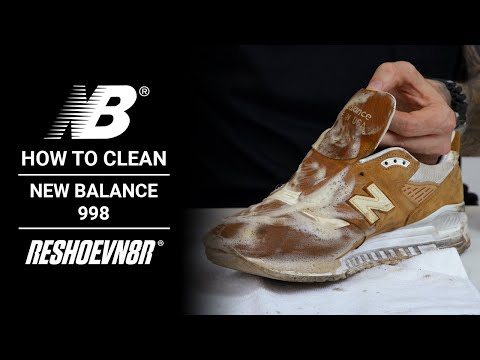How to Clean New Balance 998s with RESHOEVN8R