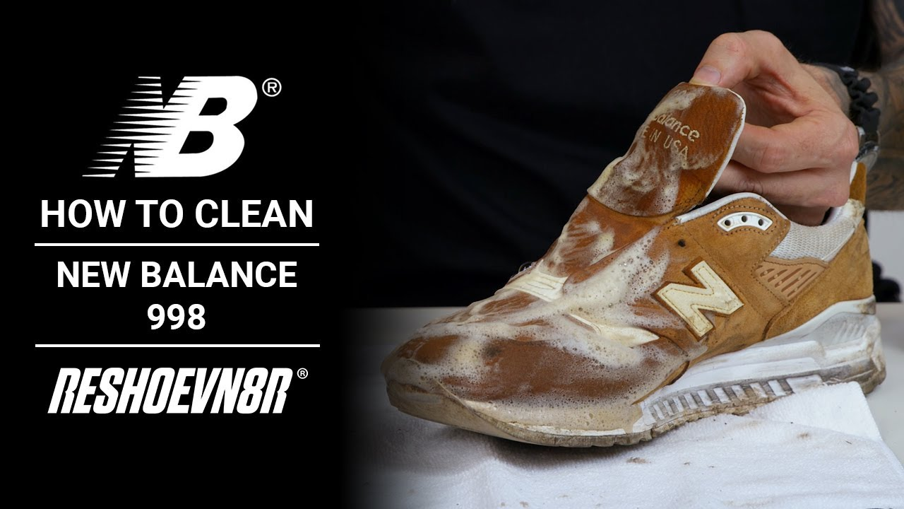 How to Clean New Balance 998s with