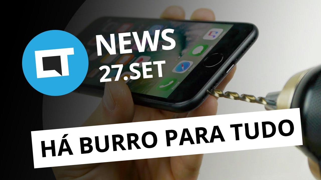 a771fcd1c68 Trollagem do iPhone 7, novo top de linha da Xiaomi, YouTube Offline e +  [CTNews] - Vídeos - Canaltech