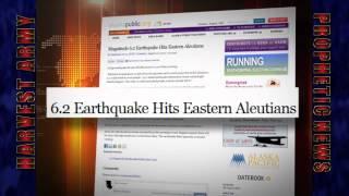 Powerful 6.2 EARTHQUAKE Strike .. ALASKA .. - NORTH PACIFIC - Aug. 10, 2012. Prediction.