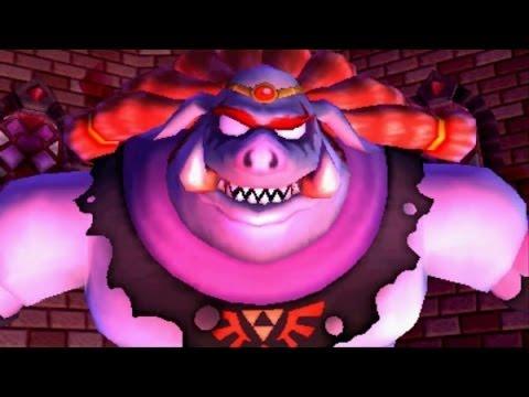 The Legend of Zelda: A Link Between Worlds - All Boss Fights (No Damage) + Final Boss & Ending