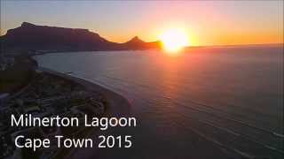 Sunset at Milnerton Lagoon, Cape Town