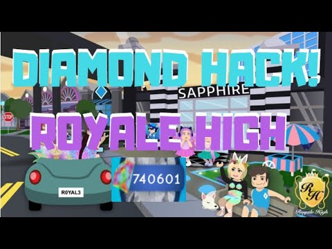 how to hack diamonds in royale high roblox