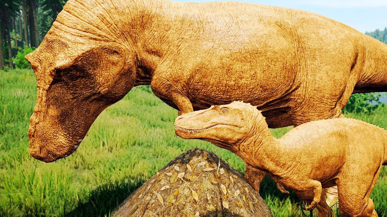 Download Filhote Golden Rex + Emboscada ao Acrocantossauro! Caçadas | (#01) | The Isle Realismo | (PT/BR)
