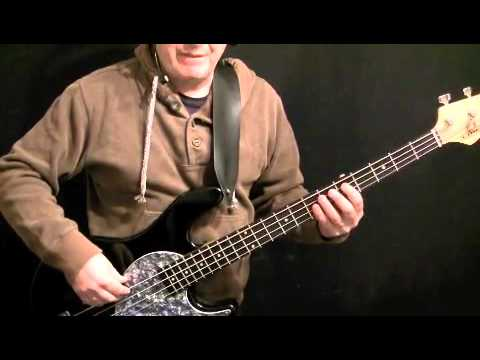 How To Play Bass Guitar to It's A Kind Of Magic - Queen - John Deacon