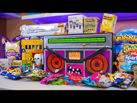 Happy Halloween Surprise Eggs Scary Radio Toys Blind Bags Toy for Girls & Boys Kinder Playtime