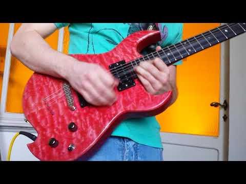 Sweet child o' mine guitar solo improvisation shredding – FBT 500R – Korg – Cool Melodic Licks