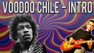 Jimi Hendrix - Voodoo Child Intro Guitar Lesson (WITH TABS)