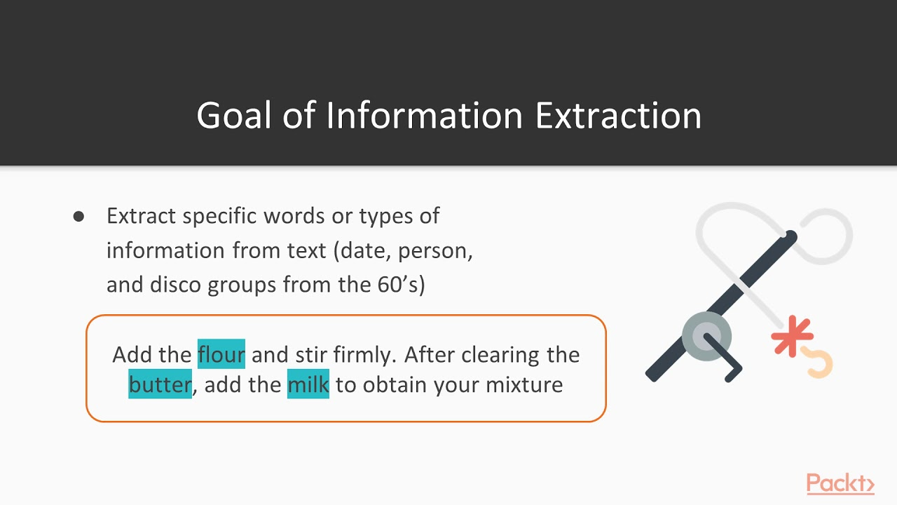 Text Mining with Machine Learning and Python: Word Search Versus Entity  Extraction| packtpub com