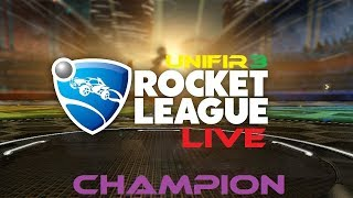 ROCKET LEAGUE (RLCS Training + CHAMP Rank) #6 | PS4 Gameplay | LIVE Stream