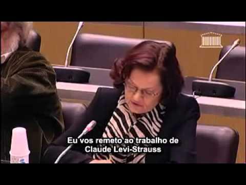 Elisabeth ROUDINESCO commission des lois sur le mariage pour tous arc