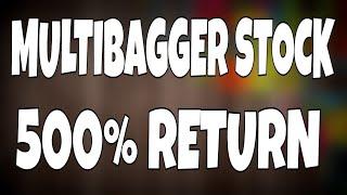 Multibagger stock for 2018 | hindi