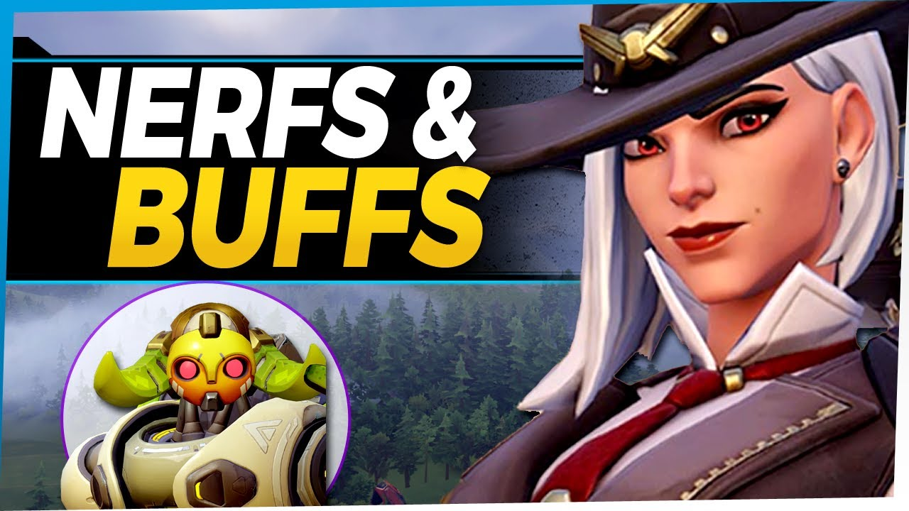 Overwatch Ashe Nerf and Buffs for Orisa Roadhog Baptiste and more