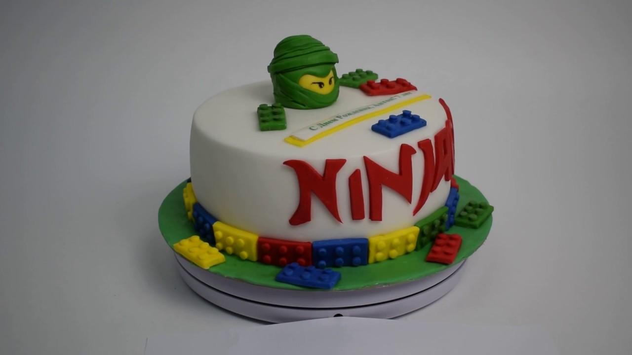 Торт для мальчика 7 лет - YouTube