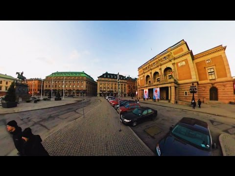 360 VR Tour | Stockholm | Royal Swedish Opera | Gustav Adolf's Square | Outside | No comments tour