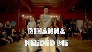 rihanna   needed me hamilton evans choreography