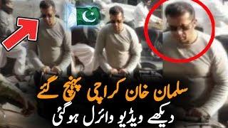 Salman Khan In Karachi Market || Truth Behind This Viral Video
