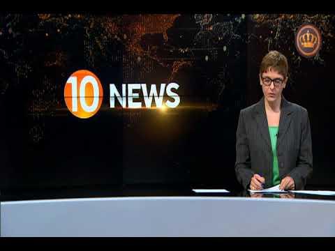 English News at Ten on Jordan Television 10-05-2018