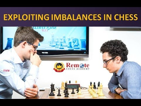 Exploiting imbalances in chess - Carlsen vs Caruana