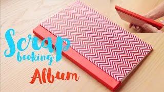 D.I.Y Scrapbooking album. Альбом для скрапбукинга с нуля!