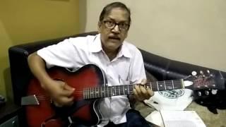 guitar - gulabi aankhen chords