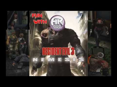 Resident Evil 3 - Fun With Action Replay