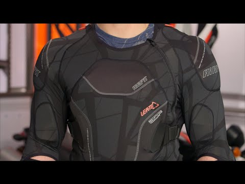 Leatt 3DF AirFit Body Protector Review At RevZilla.com