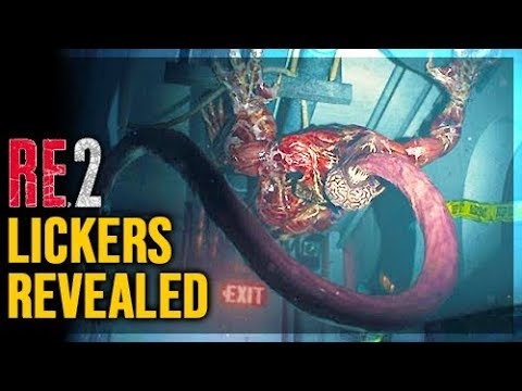 Resident Evil 2 Remake - New Gameplay Analysis And Features - Lickers Reavealed