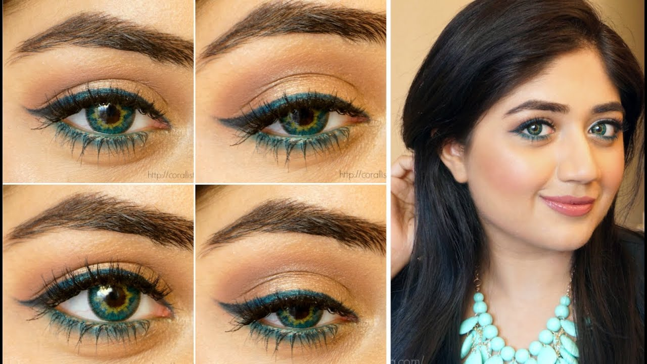 Makeup for heavy hooded eyes
