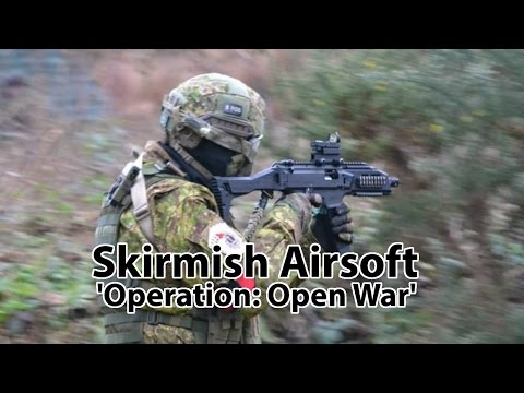 Skirmish Airsoft East Anglia - Operation: 'Open War' - Norwich, Norfolk, UK