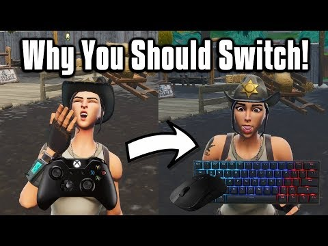Why You Should Switch To Keyboard & Mouse! - Fortnite Battle Royale