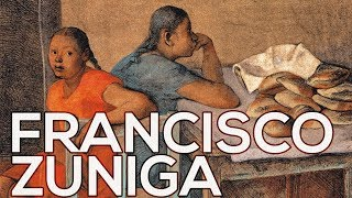 Francisco Zuniga: A collection of 160 works (HD)