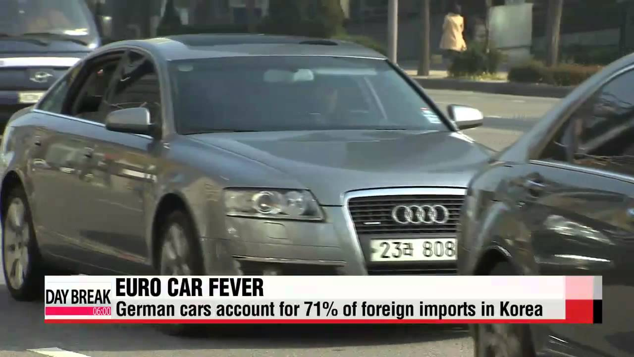 European Auto Imports Eating Into Sales Of Korean Auto Giants 유럽차