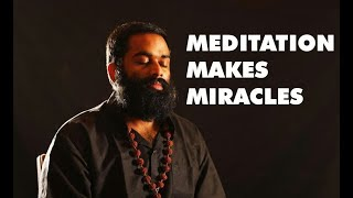 Meditation Makes Miracles!! Untold Truth by Shri Aasaanji!