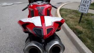 Ducati 848 Superbike Arrow Exhaust