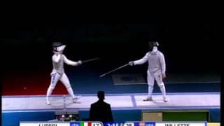 Fencing JWCH 2010 Mens Foil Team - Gold Medal Match
