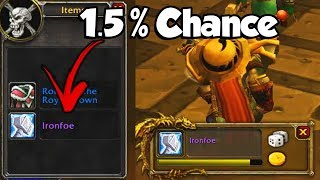1.5% Chance Best in Slot Drop!! - WoW Classic Funny Moments #11
