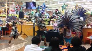 Calpulli Tonalehqueh Dancers at Newark Store