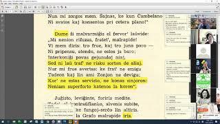23 | Sinjoro Tadeo 3: 414-543 | Pan Tadeusz – 에스페란토 판 타데우시 3권 공부 (zoom)