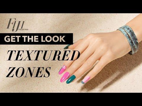Textured Zones: Spring Nail Art | OPI