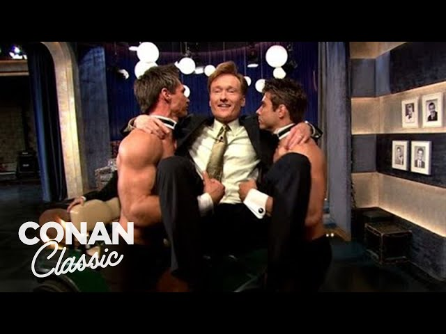 """Conan Debunks The Myths Of """"Late Night"""" - """"Late Night With Conan O'Brien"""""""