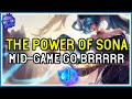 The POWER of SONA SUPPORT - High Elo - League of Legends