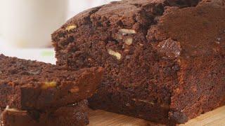Chocolate Banana Bread Recipe Demonstration - Joyofbaking.com
