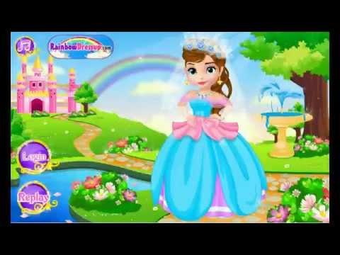 Princess Sofia Fairy Tale Wedding Dress - Y8.com Online Games by ...