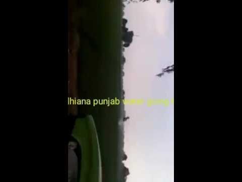 Water going towarda skies in Ludhiana punjab .Some thing power full seen on cam