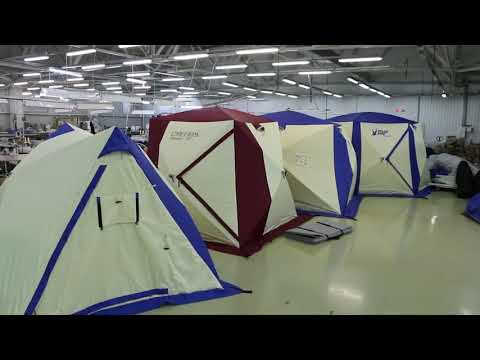 Новинка 2019! Зимняя утепленная палатка Polar Bird 3 T Light 1