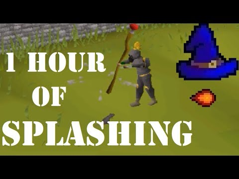 1 Hour of Splashing (6K - 60K Magic XP) - OSRS Magic Training Guide
