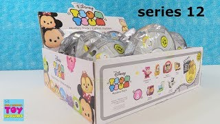 Disney Tsum Tsum Series 12 Mystery Pack Full Box Blind Bag Opening Toy Review | PSToyReviews