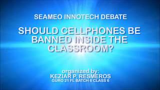 DEBATE: Should cellphones be banned inside the classroom?